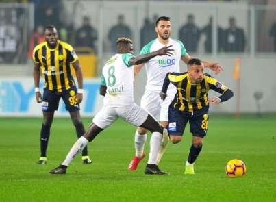 Spor Toto Süper Lig: MKE Ankaragücü: 0 - Bursaspor: 0 (Maç sonucu)