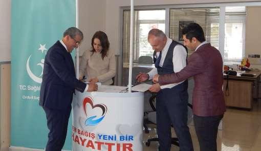 18 PTT çalışanı organlarını bağışladı
