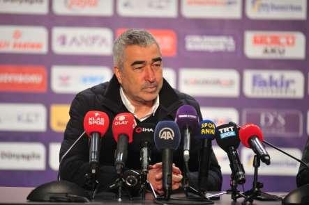 Samet Aybaba: 'İlk 45 dakika 3 tane net pozisyon girdik'