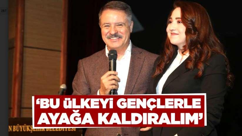 Cemil Deveci: 'Bu ülkeyi gençlerle ayağa kaldıralım'