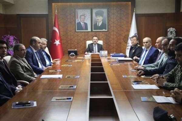 İl Spor Güvenlik Kurulu Mayıs ayı toplantısı yapıldı