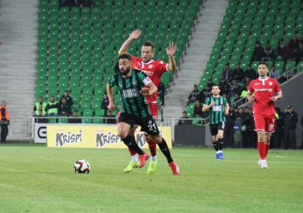 TFF 2. Lig Play-Off Çeyrek Final: Sakaryaspor: 1 - Samsunspor: 0