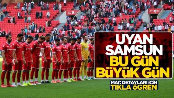 Samsunpor Sakaryaspor maçı canlı yayın