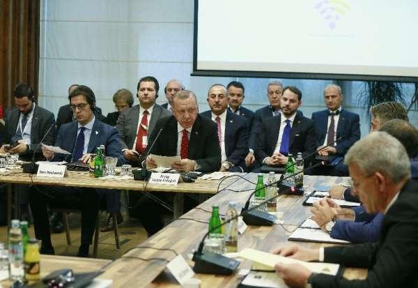 Erdoğan, Balkan Zirvesi'nde konuştu: 'Ekonomik işbirliğimizi geliştirmek zorunda
