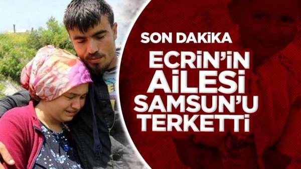 Ecrin Kurnaz'ın ailesi Samsun'u terk etti. Ecrin Bebek son durum!