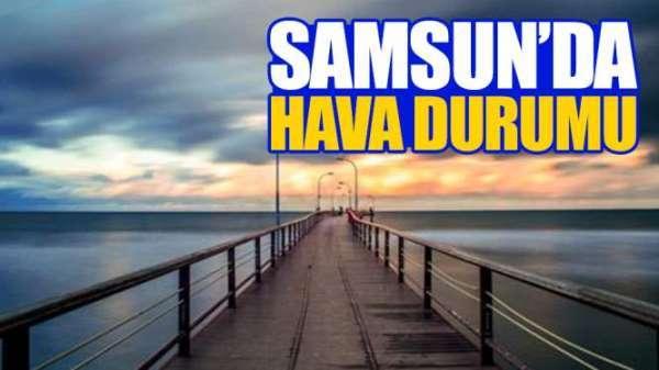 Samsun'da 9 temmuz salı günü hava durumu