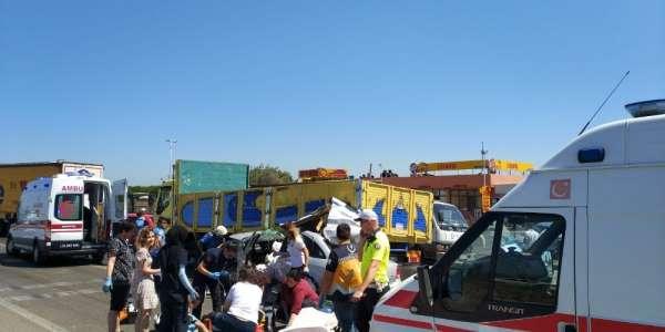 Karacabey'de trafik kazası: 4 yaralı