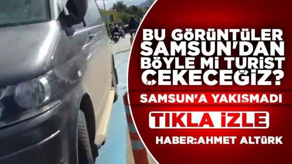 Samsun'da şok eden görüntüler! Tıkla izle