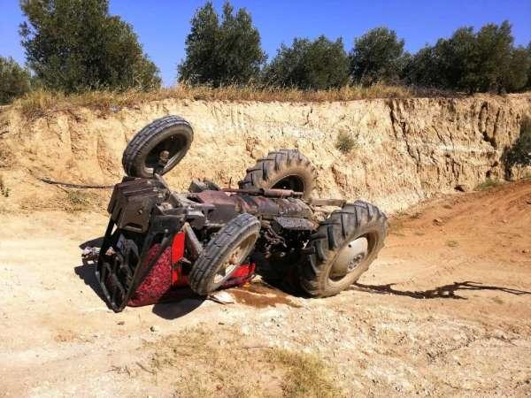 Sarıgöl'de traktör kazası: 1 ölü
