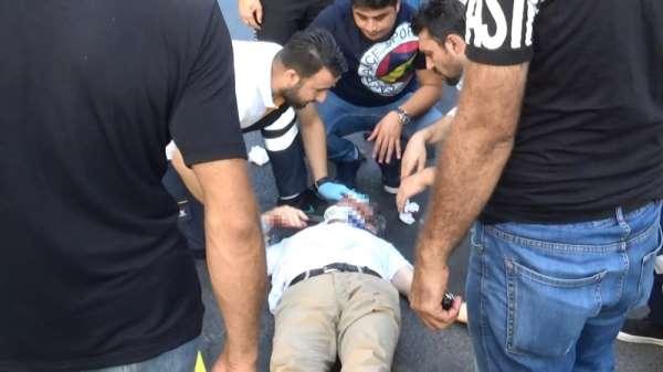 Diyarbakır'da akıl almaz kaza
