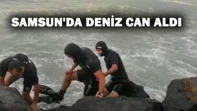 Samsun'da 16 yaşındaki çocuk denizde kayboldu