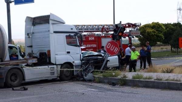 Hatay Emniyet Müdürü ve ailesi kaza geçirdi