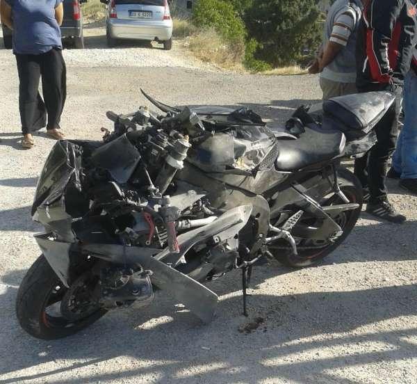 Mersin'de 2 ayrı trafik kazasında 2 yaralı