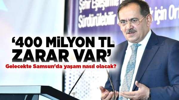Mustafa Demir açıkladı! '400 milyon TL zarar var'