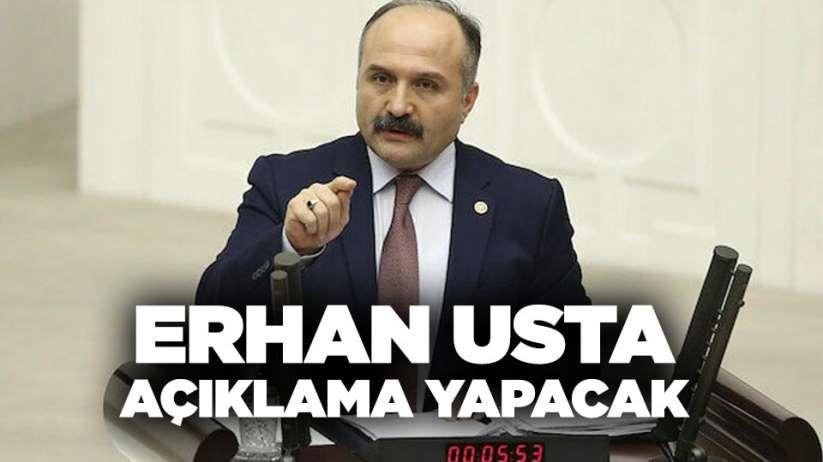 Erhan Usta açıklama yapacak! İYİ Partiye geçecek mi?