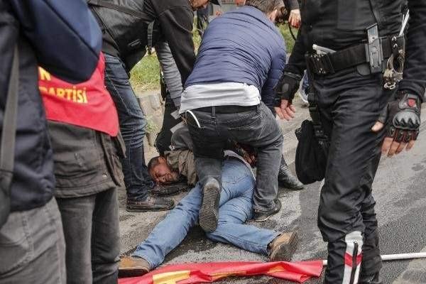 1 Mayıs Klasiği! Taksim Karıştı..