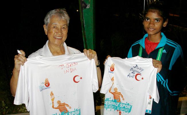 80 yaşındaki sporcunun hedefi 2021 Olimpiyatları