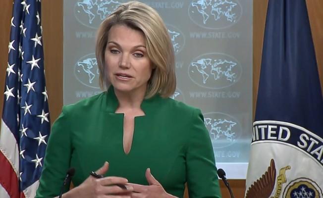 """ABD Dışişleri Bakanlığı sözcüsü Nauert: """"Papaz Branson'un hemen eve gönderilmes"""