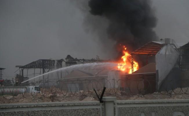 Adana`da kimya fabrikasında yangın