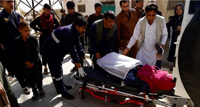 Afganistan`da saldırı, 38 ölü