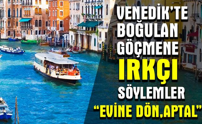 Afrikalı mülteci, turistlerin gözü önünde Venedik kanalında boğuldu!