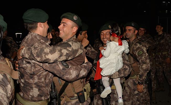 Afrin Kahramanları Samsun`a Döndü!
