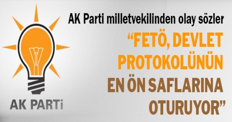 AK Parti milletvekilinden olay çıkartacak sözler