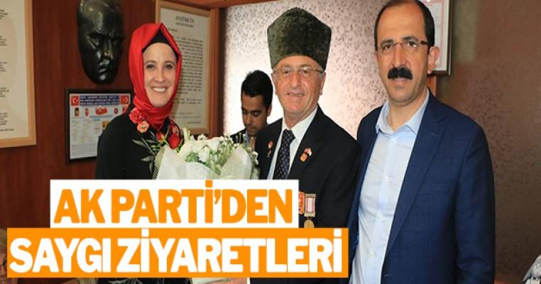 AK Parti'den 'Saygı' ziyaretleri