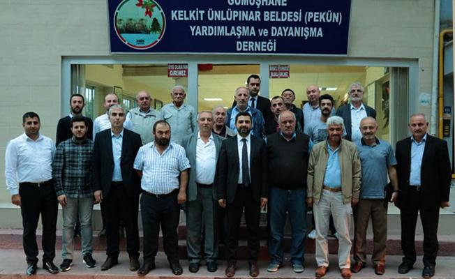 AK Parti'den Vefa Ziyaretleri