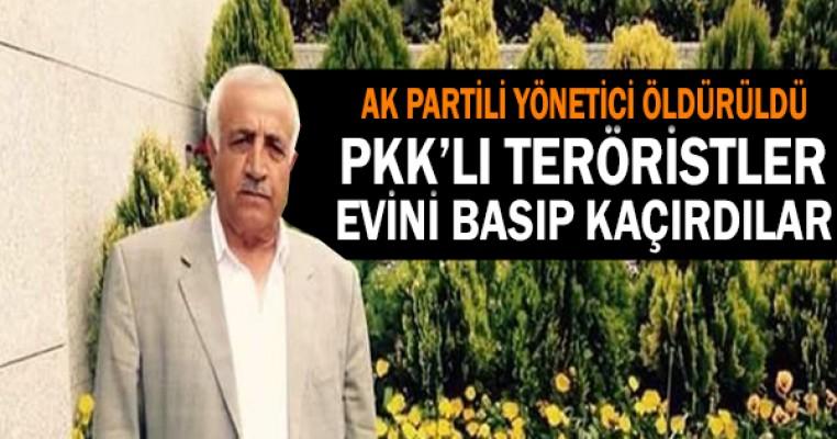 AK Partili Başkan Yardımcısı`nı PKK vurdu !