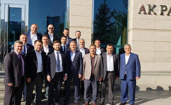 AK Partili İlçe Başkanları Ankara'da