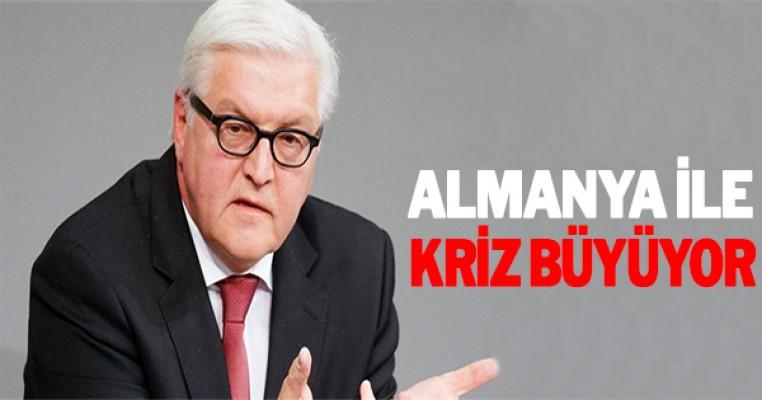 Almanya ile kriz büyüyor