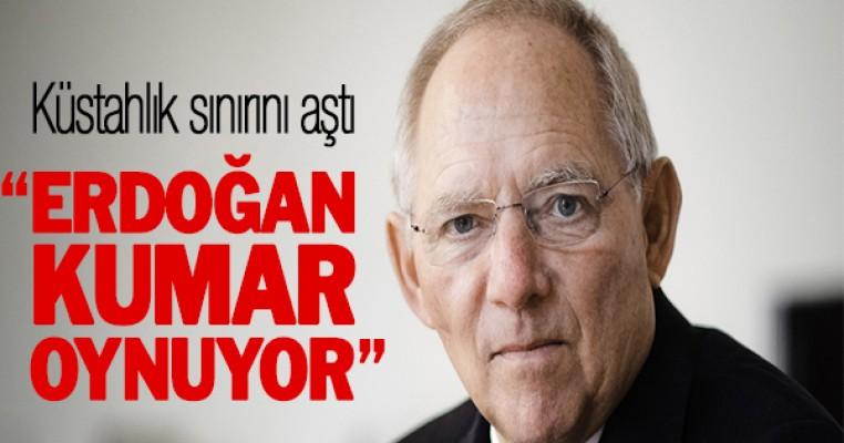 Almanya'dan çok sert Erdoğan eleştirisi