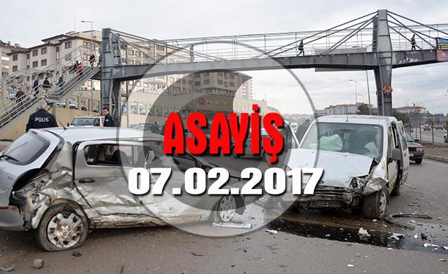 Ankara-Kayseri karayolunda kamyon yan yattı