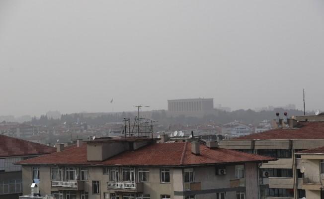 Ankara Toz Bulutuyla Kaplandı