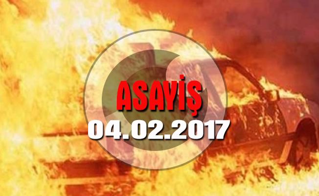 Antalya'da sigara dağıtan araç yakıldı