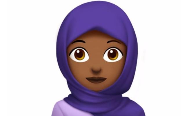 Apple`dan başörtülü emoji