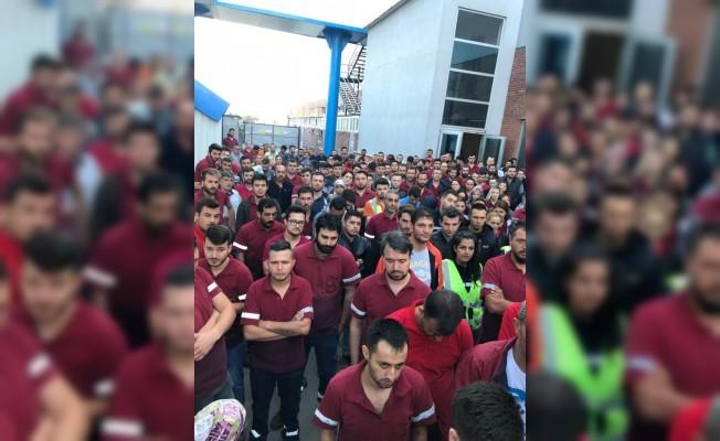 Arkadaşları İşten Atılınca Bin 13 İşçi İş Bıraktı