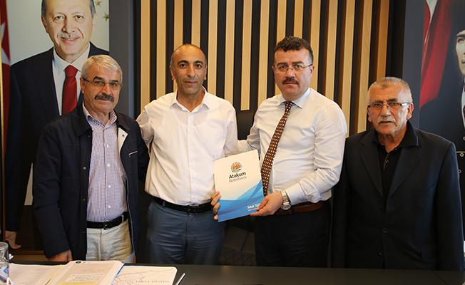 Atakum`da Tokatlılarla Protokol İmzalandı!