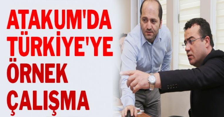 Atakum`da Türkiye`ye örnek çalışma