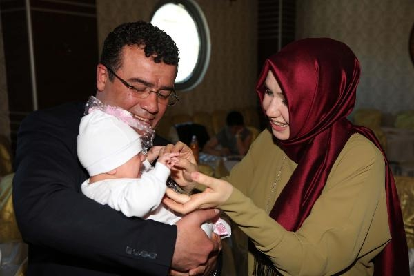Atakum'da yeni doğan bebeklere sürpriz