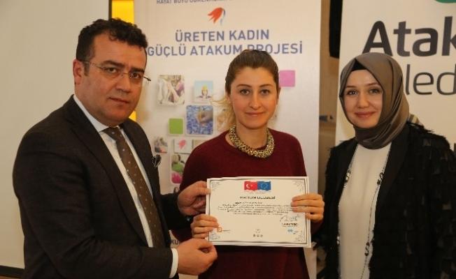 Atakum'un üreten kadınlarına iletişim semineri