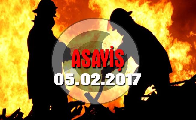 Ataşehir'de iki katlı demir doğrama atölyesinde yangın