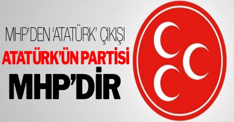 ``Atatürk`ün partisinin devamı MHP`dir``