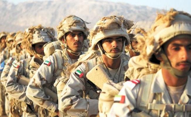 BAE, Askerleri Yemen`e Girdi