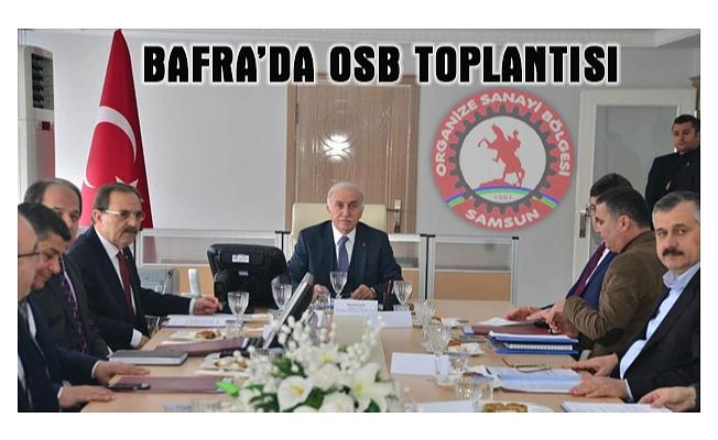 Bafra'da OSB Toplantısı