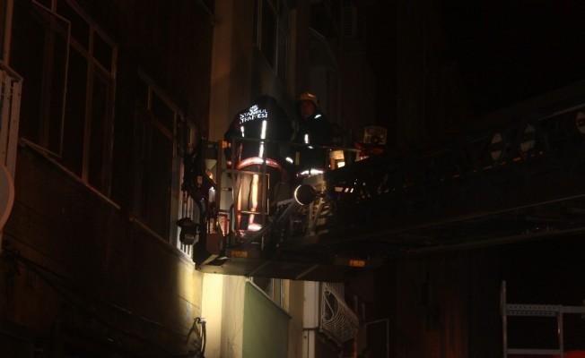 Bakırköy'de yangın !