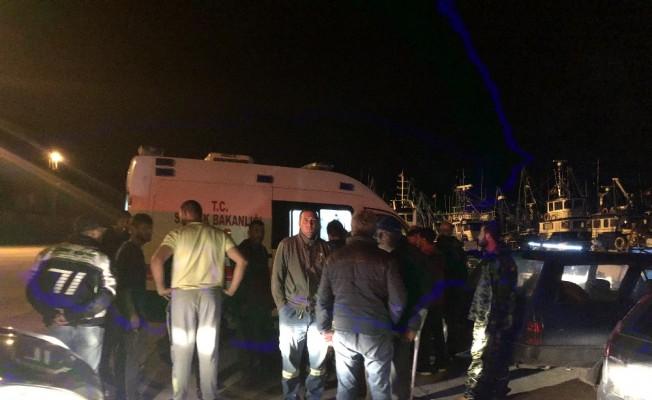Balıkçı teknesine silahlı saldırı: 1 yaralı