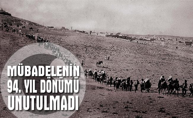Balkan Türkleri mübadelenin 94. yıl dönümünü unutmadı