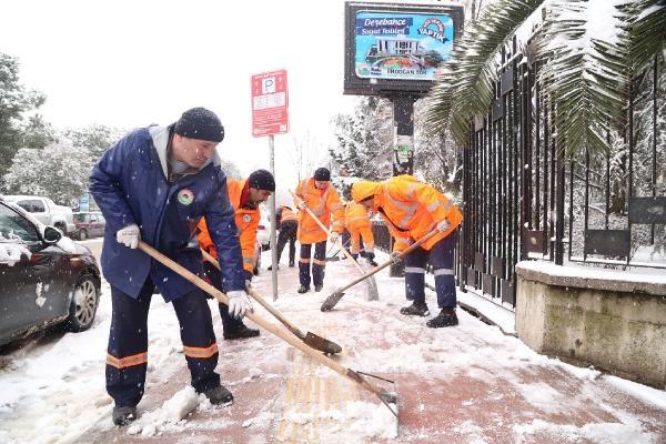 Başkan Tok : İlkadım'da kar ulaşıma engel değil